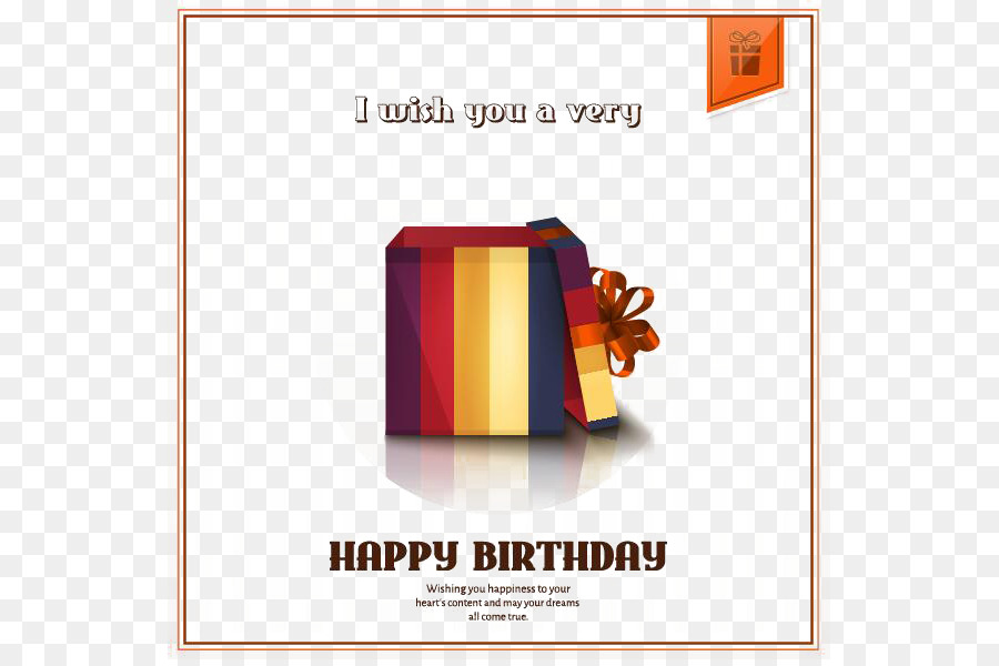 Gift Greeting Card Birthday Stock Photography Birthday Present Png
