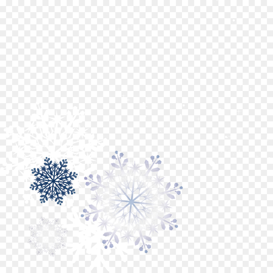 snowflakes powerpoint template