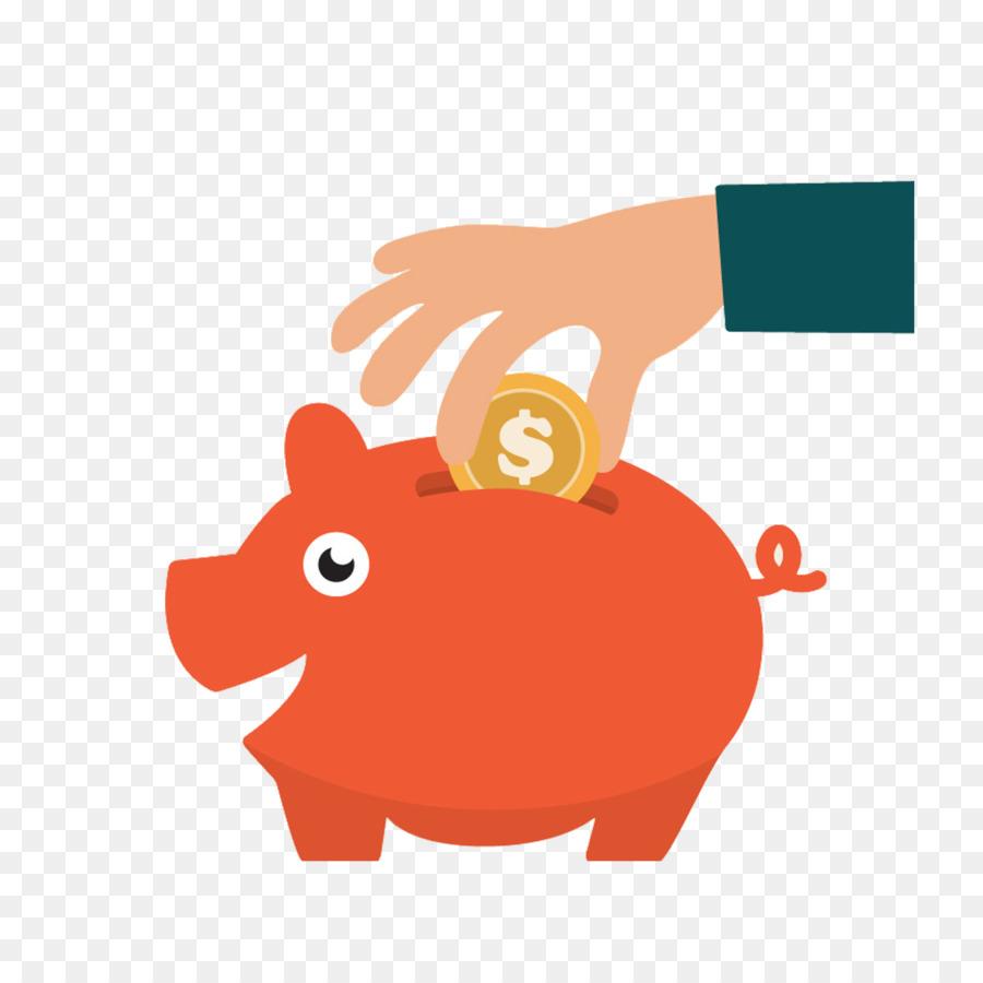 Piggy Bank Cartoon Png