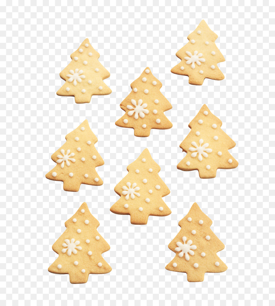 Cream Christmas tree Cookie - Christmas Cookies png download - 683 ...