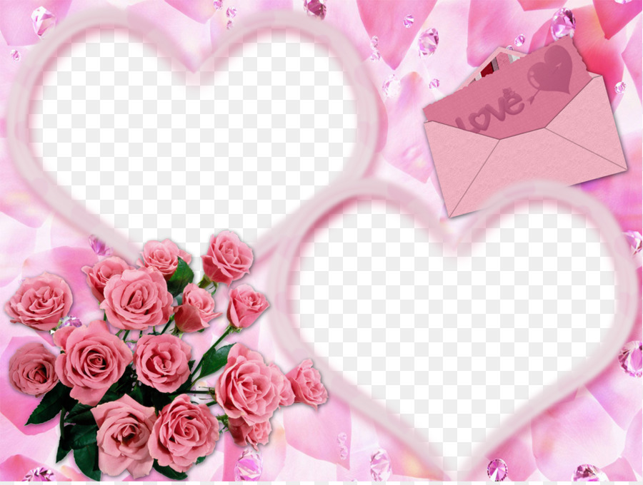 Love Picture frame - Pink Frame png download - 1066*800 - Free ...