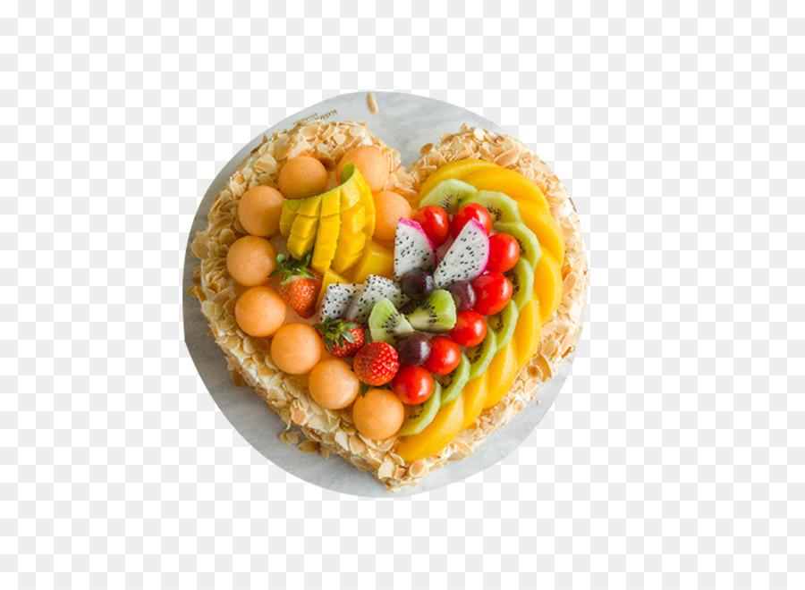 Birthday Cake Fruit Mousse Strawberry Cream Cake Pound Cake Heart