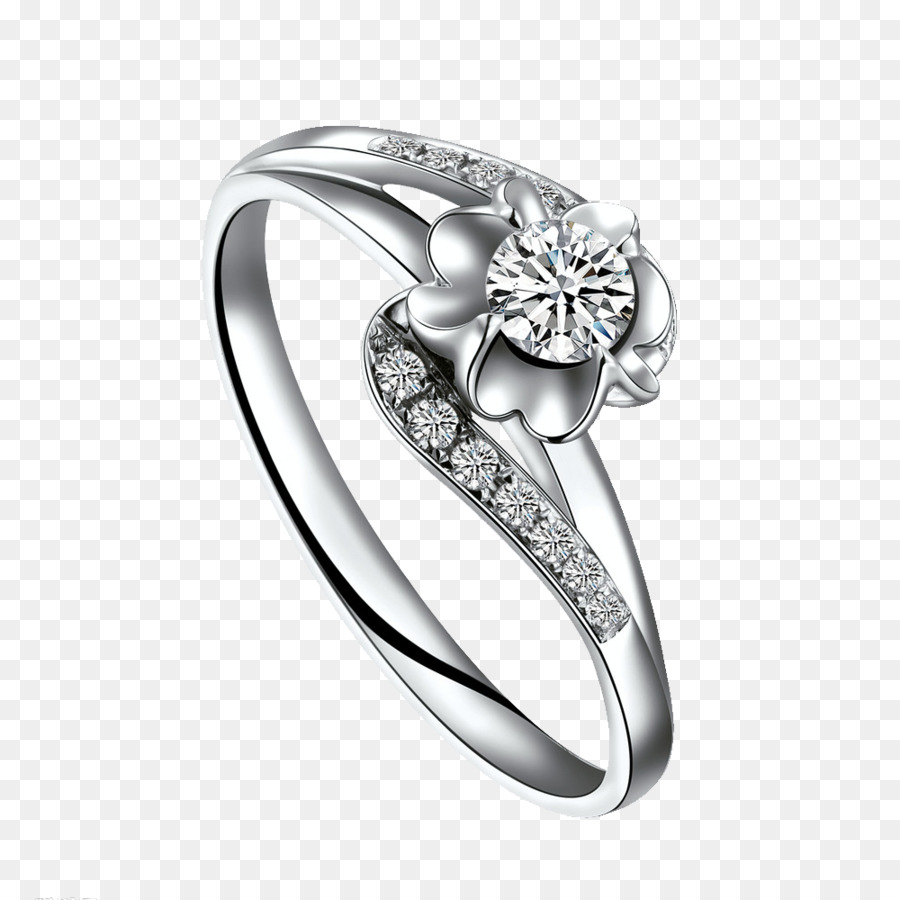 Ring Diamond Jewellery Silver