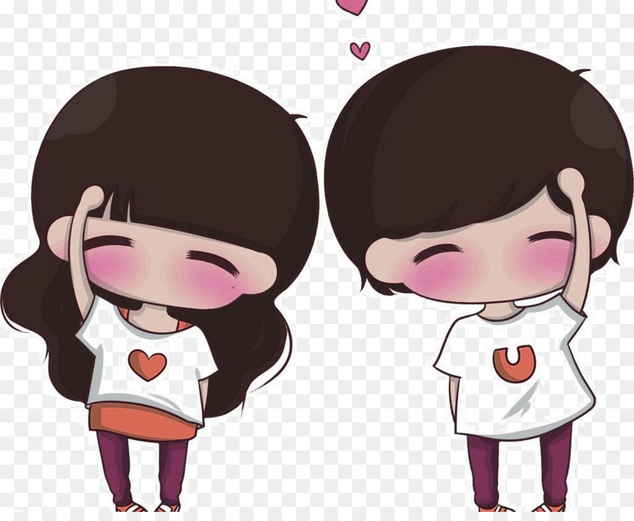 Picture pics of cute couple cartoon