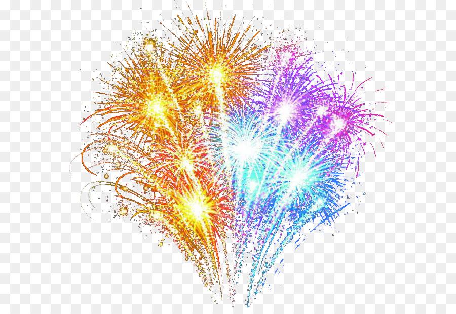 Adobe Fireworks Hermoso Colorido De Los Fuegos Artificiales Png