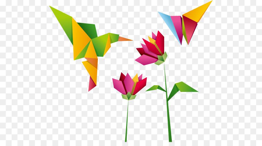 Crane Hummingbird Origami
