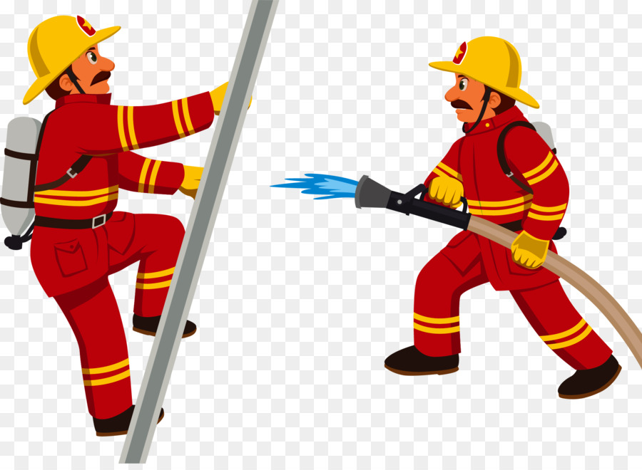 firefighter cartoon fire department clip art firemen png download rh kisspng com fire department clip art cross fire department clipart free