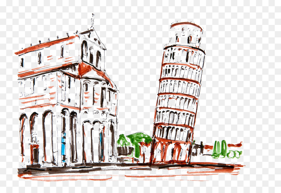 architectural drawings of famous buildings. Brilliant Drawings Leaning Tower Of Pisa Drawing Italy Architecture  Famous Buildings Inside Architectural Drawings Of G