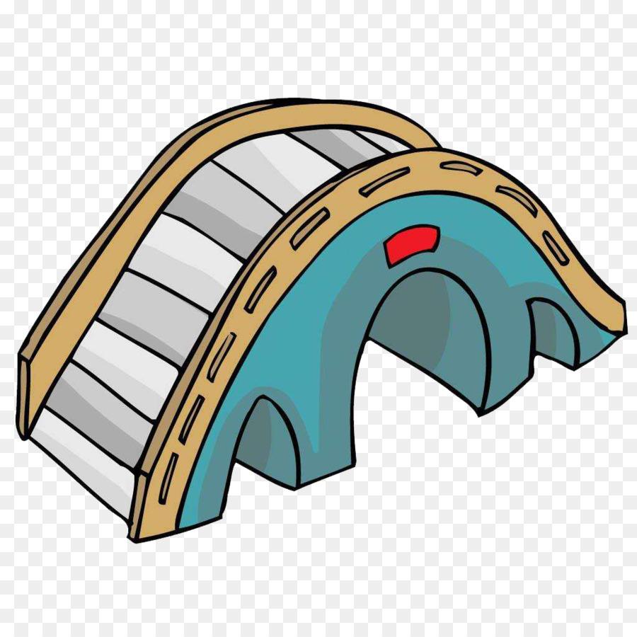 arch bridge cartoon clip art cartoon blue arch bridge png download rh kisspng com clipart bride clip art bridge drawings