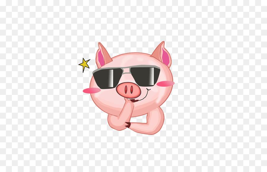 Domestic Pig Cartoon Korea Animation