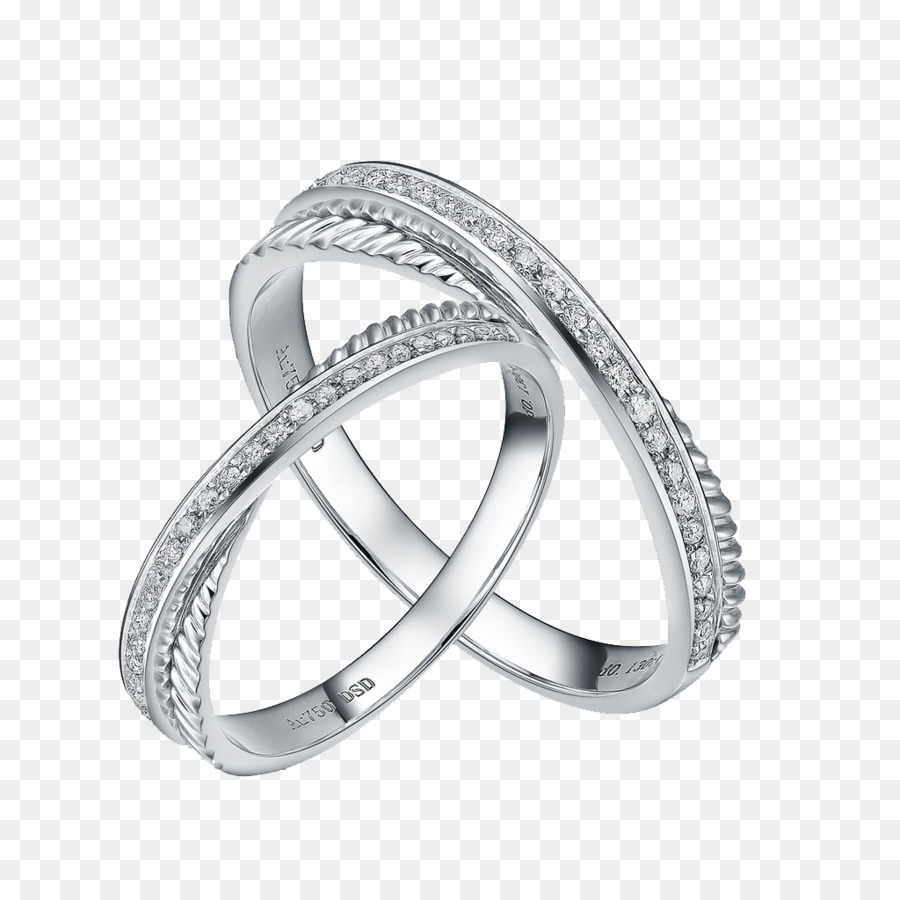 Wedding Ring Jewellery Men And Women Creative Ring Png Download