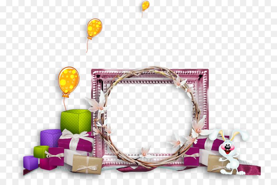 Geburtstag Ballon Clipart Vintage Rahmen Ballons Png Herunterladen