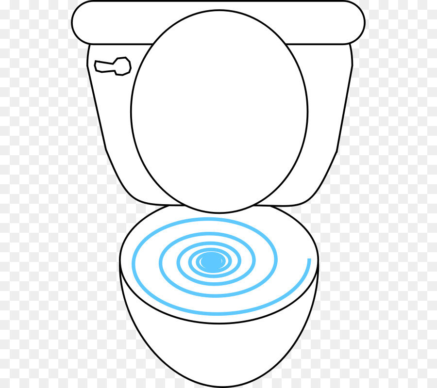 Flush Toilet Bathroom Clip Art
