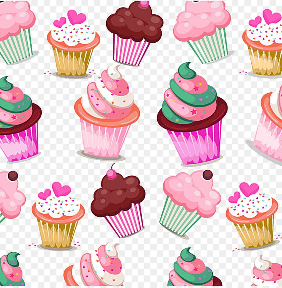 Cupcake Birthday Cake Muffin Bakery Cream
