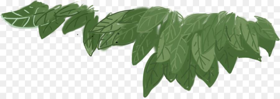 Leaf Green Painted Leaves