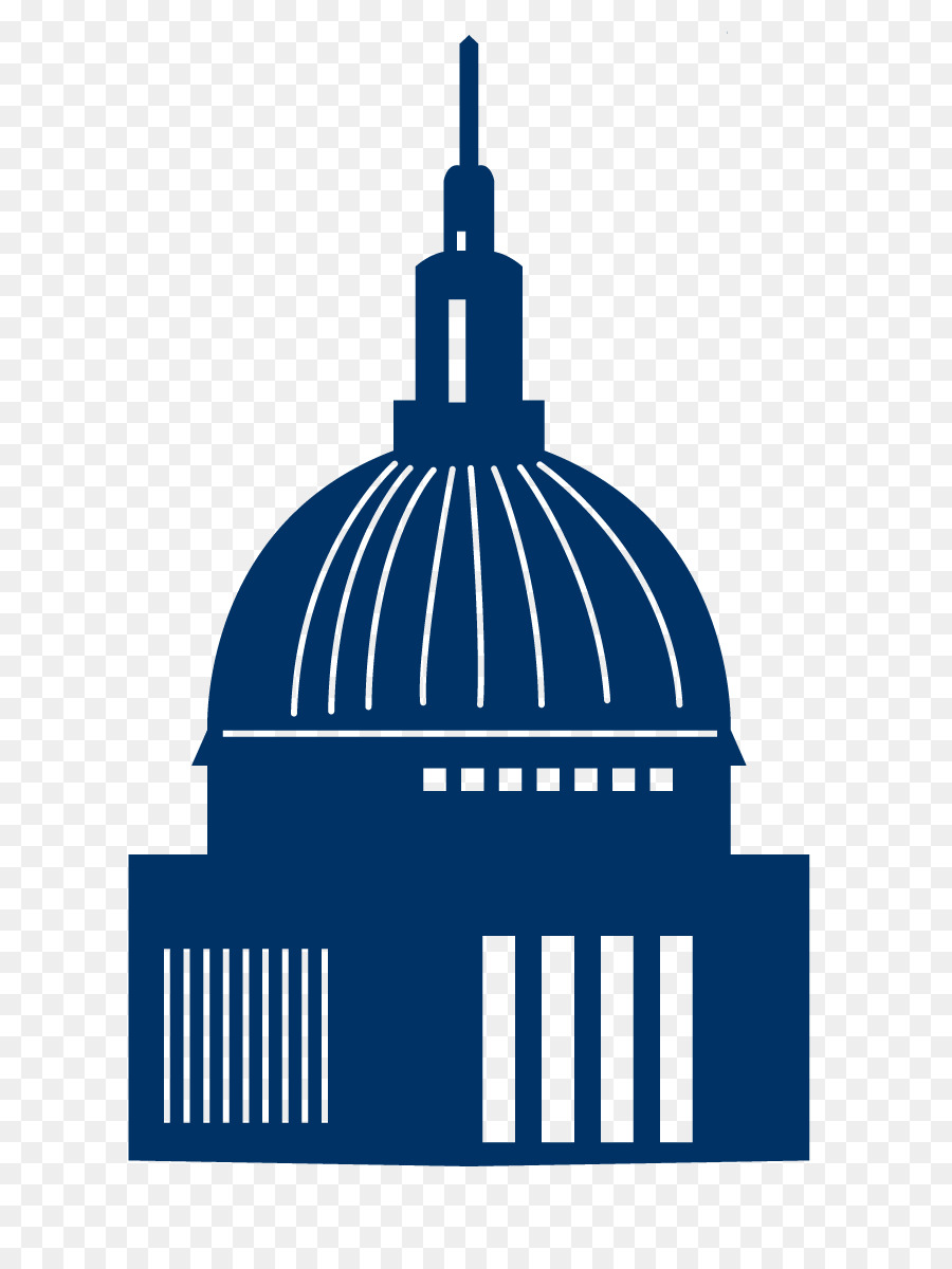 silhouette building clip art white house blue silhouette png