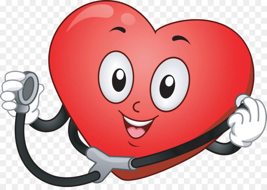 Estetoscopio Corazón De Dibujos Animados Clip Art
