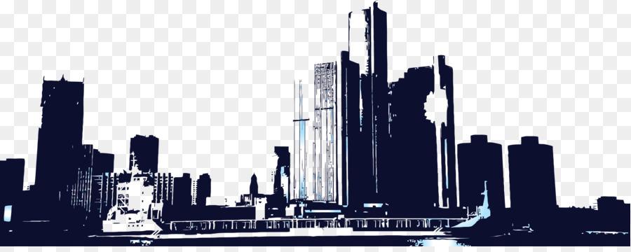 Skyline Skyscraper Clip Art