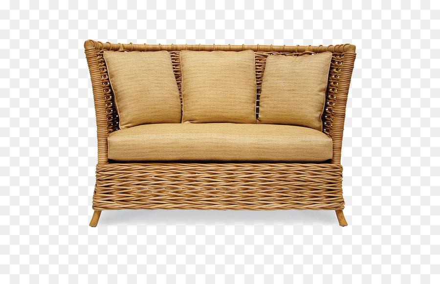 Table Loveseat Nightstand Couch   Bamboo Sofa