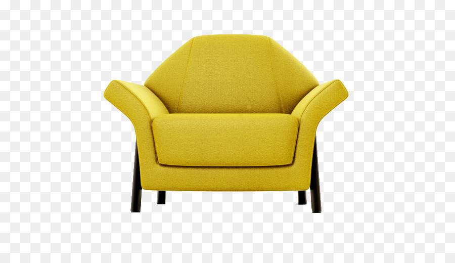 Loveseat Chair Couch   Yellow Sofa