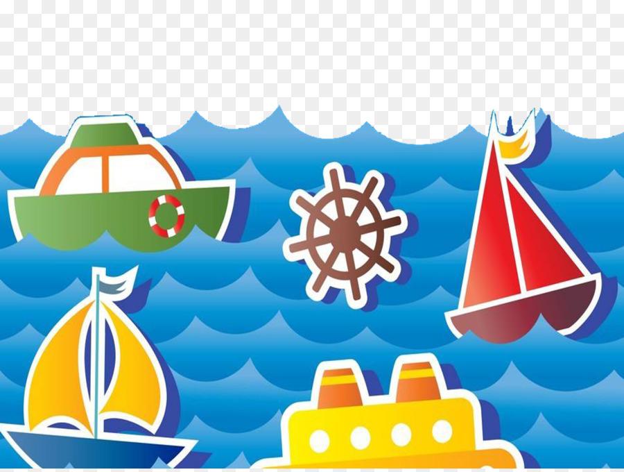o desenho do transporte marítimo desenhado a mão veleiro