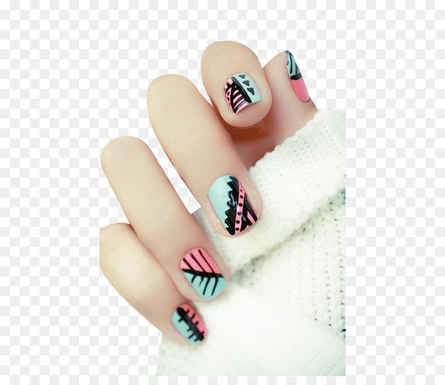 Nail art Idea Gel nails - Beautiful nail png download - 500*763 ...