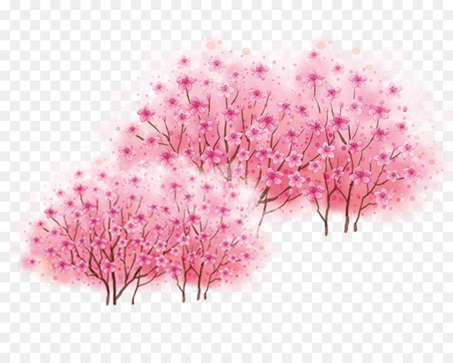 Árbol De Cerezo Png Dibujo
