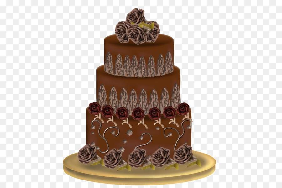 Chocolate Cake Wedding Cake Layer Cake Milk Torte Triple Chocolate