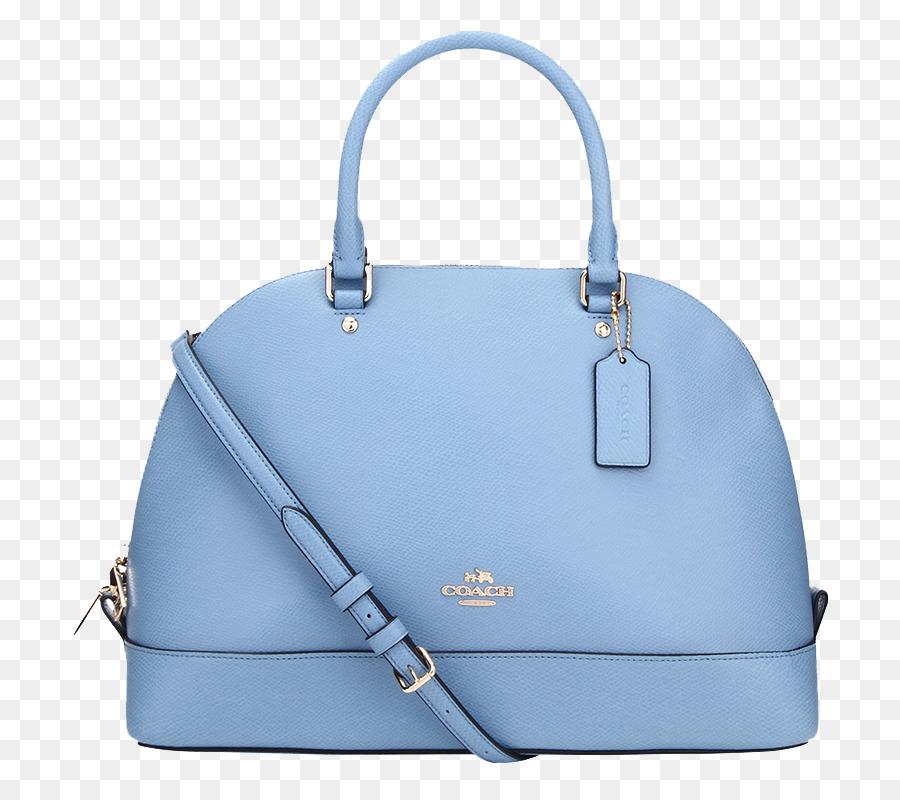 f27d7fb93b81f Handbag Tapestry Blue Leather Designer - Blue shell bag COACH png download  - 800 800 - Free Transparent Handbag png Download.