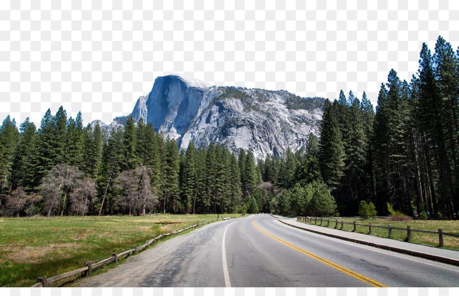 Yosemite Valley, Half Dome, Glacier Point, Computer Wallpaper, Mountain PNG