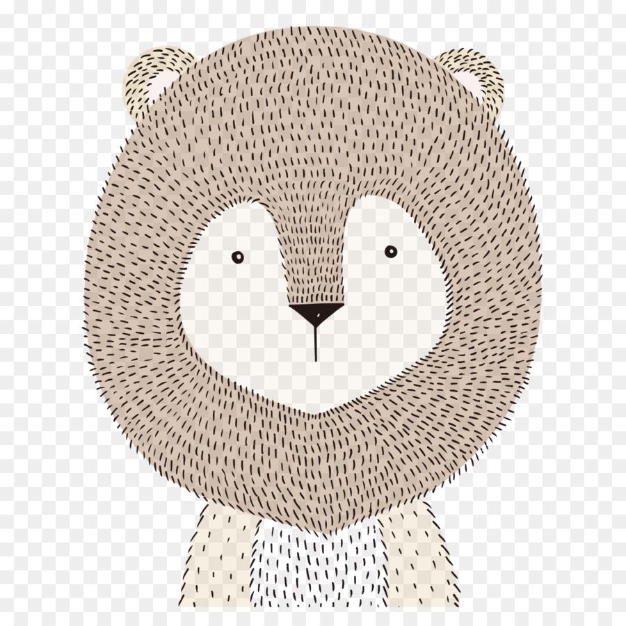 Aslan Boyama Kağıdı çocuk Hayvan Boyalı Aslan Png Indir 1500