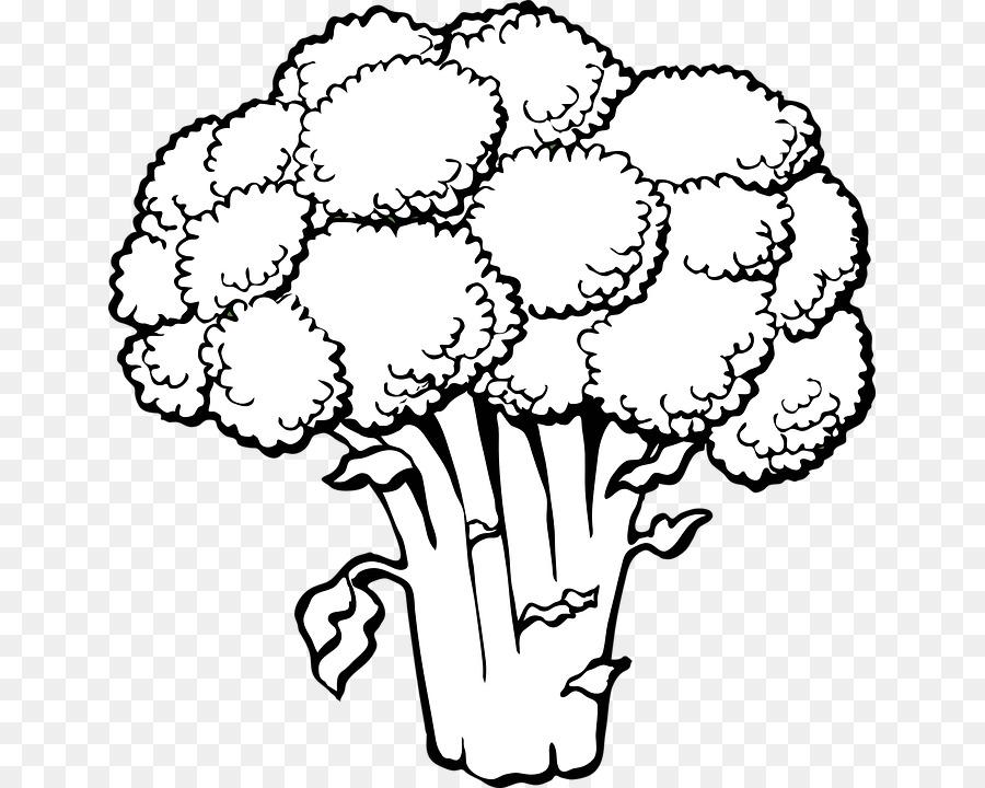 Cocina vegetariana libro para Colorear Brócoli Vegetales de la ...