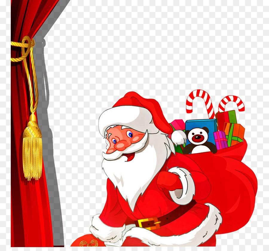 mrs claus santa claus christmas chimney gift santa claus giving