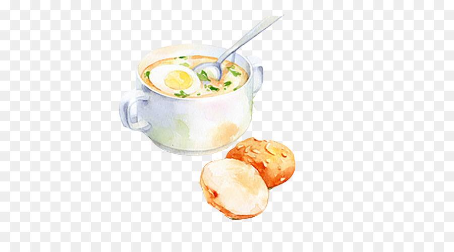 Cupcake Suluboya Resim Gıda çizim Illüstrasyon Ekmek Yumurta