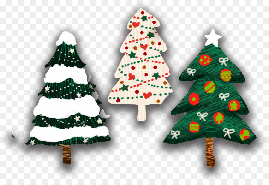 christmas tree drawing color cartoon christmas tree suit