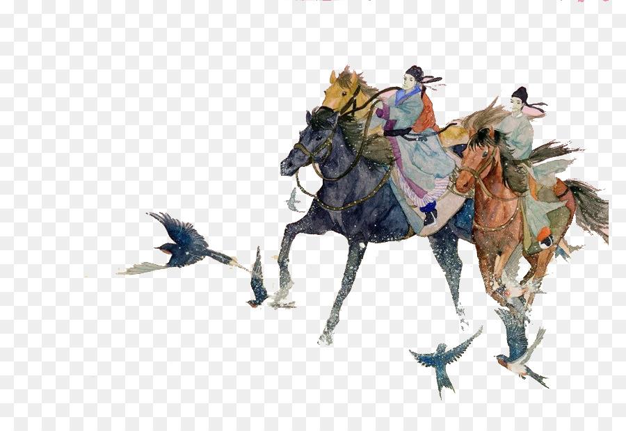 Ati Aygır Equestrianism El Boyaması At Binme Png Indir