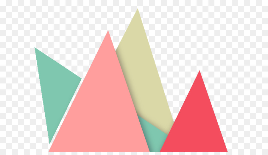 triangle graphic design pattern color geometric triangle png