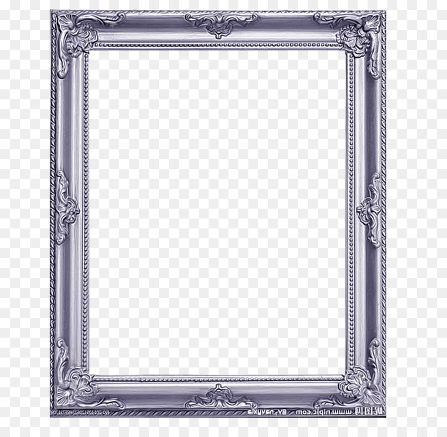picture frame vecteur silver frame png download 1859. Black Bedroom Furniture Sets. Home Design Ideas