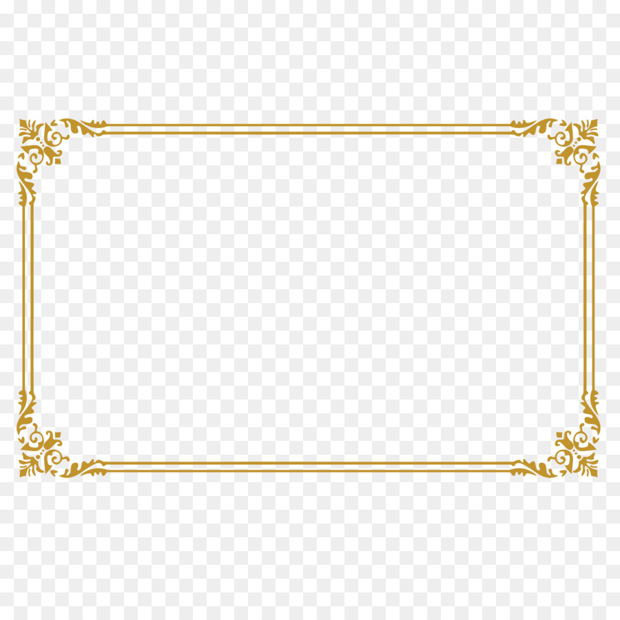 Clip Art Certificate Of Border Shading Png Download 62506250
