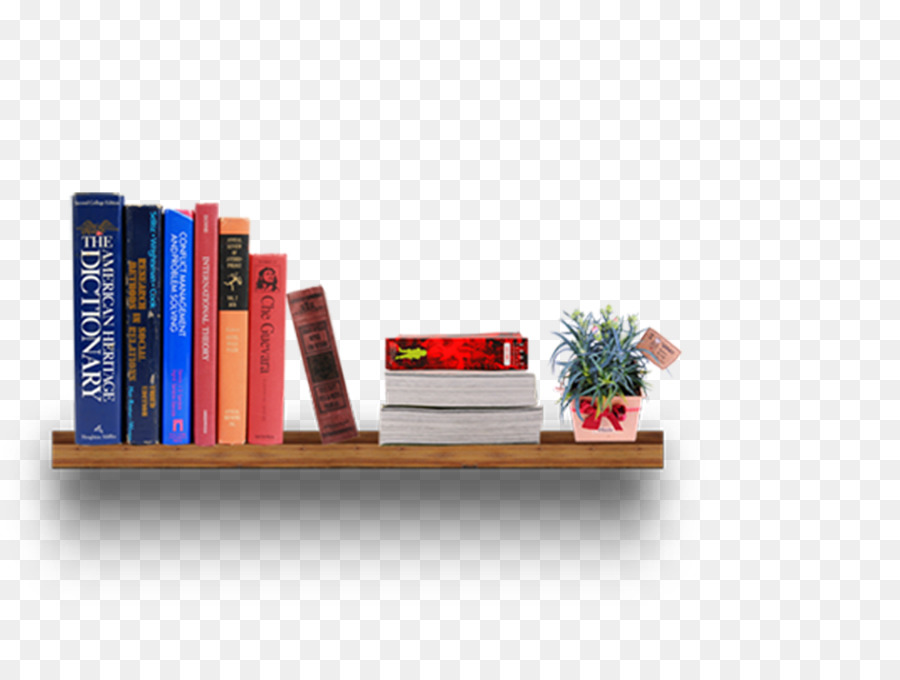 Bookcase Shelf Furniture Books On The Shelves Png Download 946