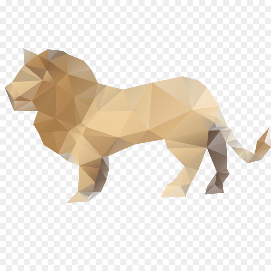 Lion Paper Origami