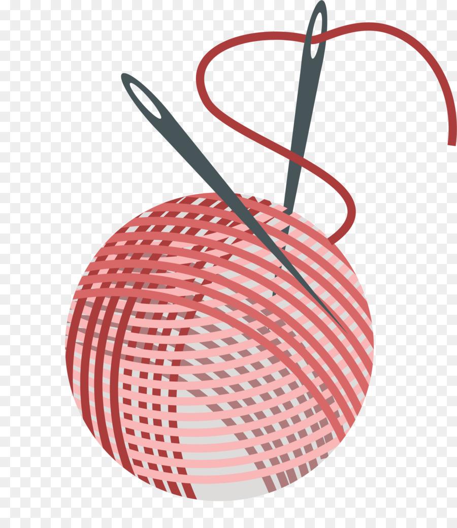 Aguja de coser Patrón de Bordado - Rojo de la bobina y el bordado de ...