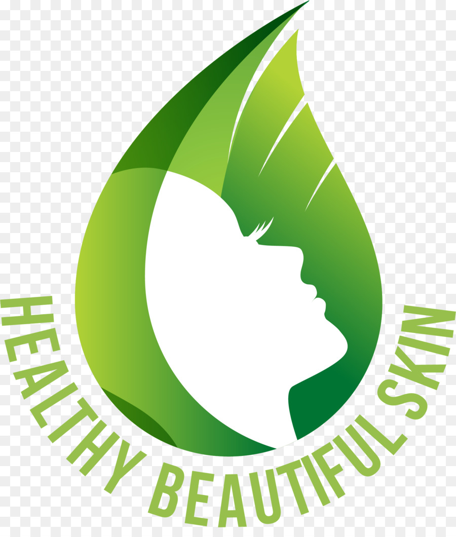 Cosméticos Salón De Belleza Spa Logotipo - Verde piel de las mujeres ...