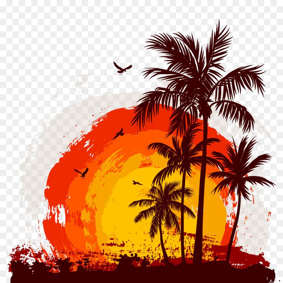 Poetry Girlfriend Good Morning Beautiful Love Drawing Coconut Tree