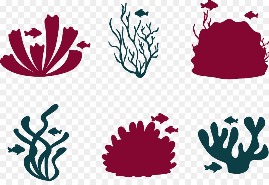Peces de arrecife de Coral Euclidiana del vector - Vector De ...