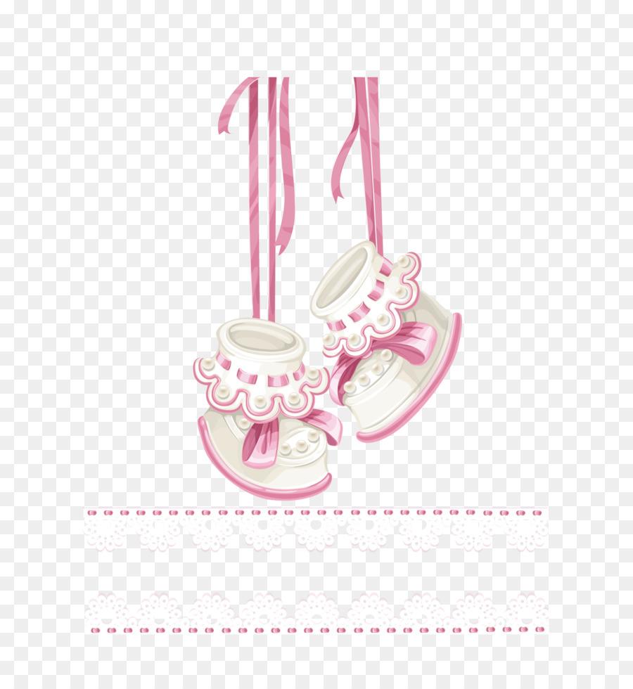Wedding invitation baby shower infant clip art vector pink shoes wedding invitation baby shower infant clip art vector pink shoes stopboris Images
