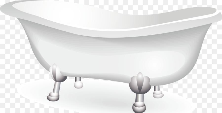 Bathtub Cartoon Clip Art Vector Bathtub Decorative Design Material Custom Bathroom Clipart Creative