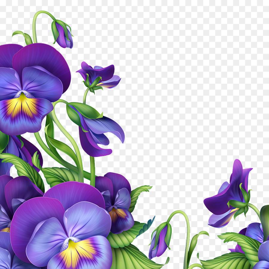 Paper Flower Purple Green Curtain Purple Trumpet Png Download