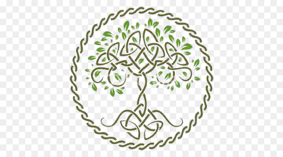 Tree Of Life Celts Symbol Celtic Knot Tree Circle Png Download