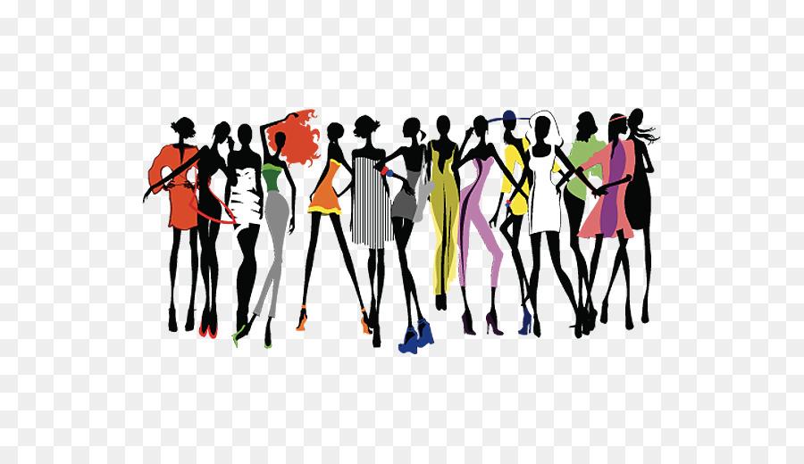 fashion show runway clip art a group of beautiful women png rh kisspng com fashion show clipart free fashion show clip art borders